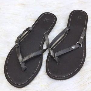 Gap Metallic copper Sandals